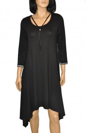 Dámská noční košile De Lafense 439 Nice černá