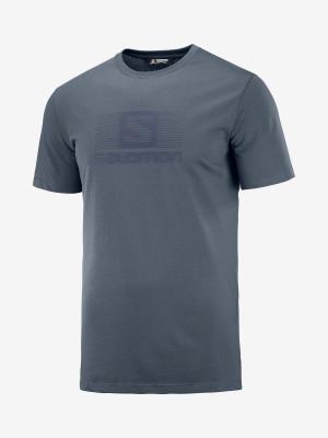 Tričko Salomon Blend Logo Ss Tee M Barevná