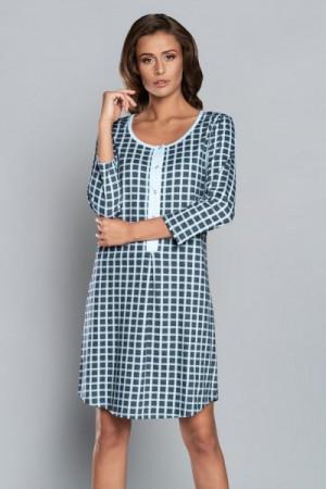 Italian Fashion Devi r.3/4 Noční košilka L modrá