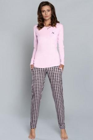 Italian Fashion Devi dl.r. dl.k. Dámské pyžamo M modrá