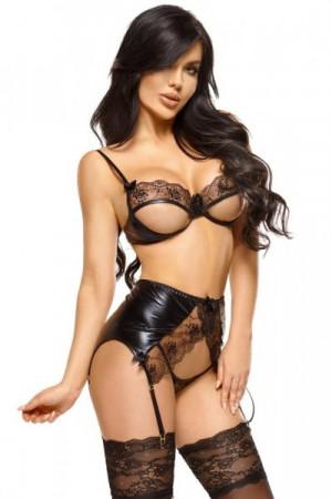 Beauty Night Narine Erotická souprava L/XL černá