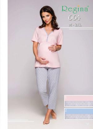 Dámské pyžamo 664  modrá
