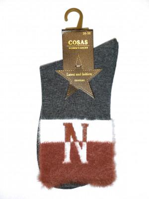 Ponožky Cosas 015-08 N bordó 39-41
