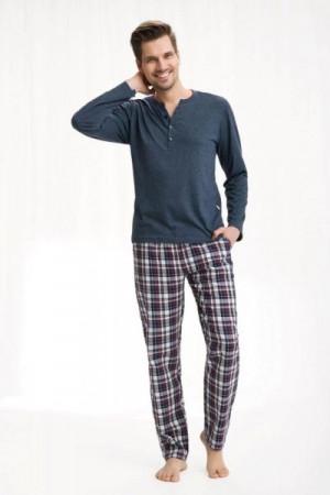 Luna 775 Pánské pyžamo XXL lilek