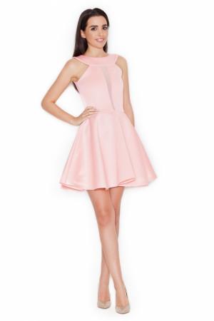 Dámské šaty K270 - Katrus růžová 36/S