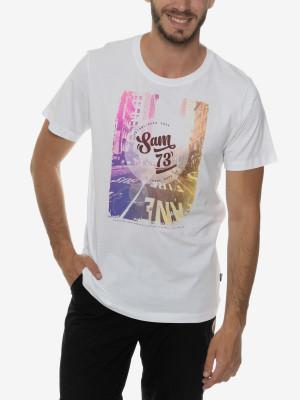 Tričko SAM 73 MTSP431000SM Bílá