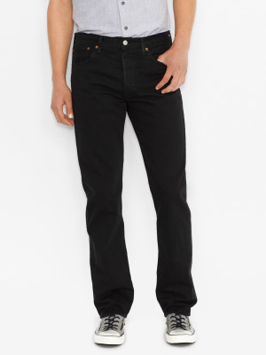 Džíny LEVI'S 501 Original Fit Black 80701 Černá