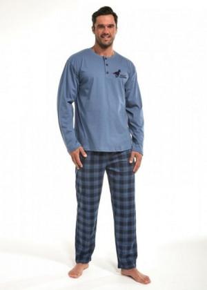 Cornette 123/140 Wild Horse Pánské pyžamo XXL modrá