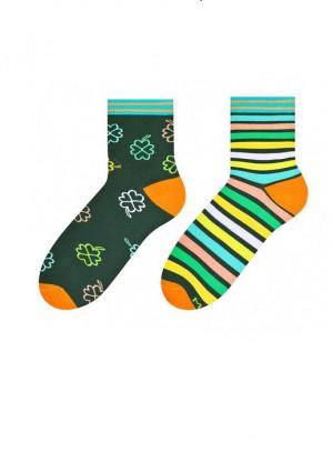 Dámské nepárové ponožky More 078  černá 38-42