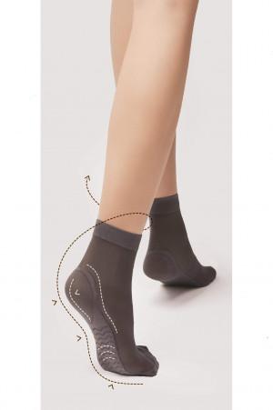 Dámské ponožky Fiore Body Care Massage M 1101 40 den černá univerzální