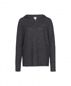 Dámská mikina QS6271E-BHC šedá - Calvin Klein šedá