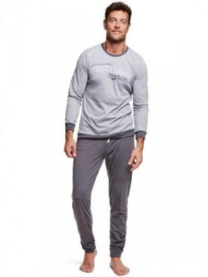 Henderson 37304 Walk Pánské pyžamo L šedá-grafitová