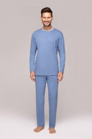 Regina 555 Pánské pyžamo M tmavě modrá