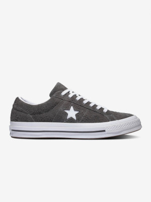 Boty Converse One Star Vintage Suede Černá