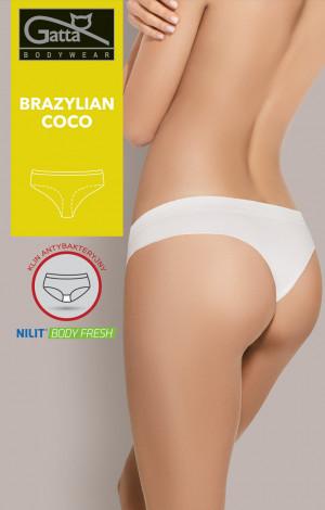 Dámské kalhotky brazilky Gatta 41606S Coco černá