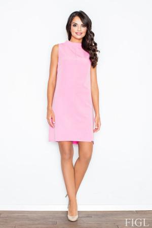 Dámské šaty M299 - Figl  růžová