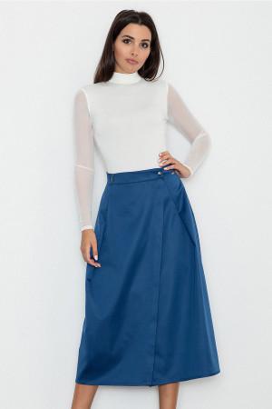 Dámská sukně M554 - Figl tmavě modrá L-40