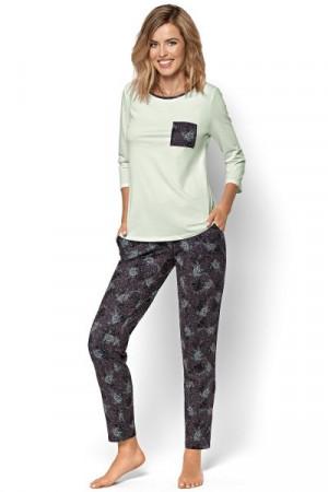 Nipplex Luciana Dámské pyžamo XL grafitová (tmavě šedá)