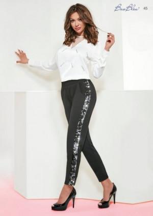 Bas Bleu Zoya 200 den leginy, kalhoty 3-M black