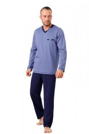 M-Max Mateo 815 Pánské pyžamo XXL modrá