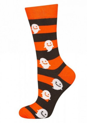 Soxo Good Stuff Halloween 1407 ponožky 35-40 černá