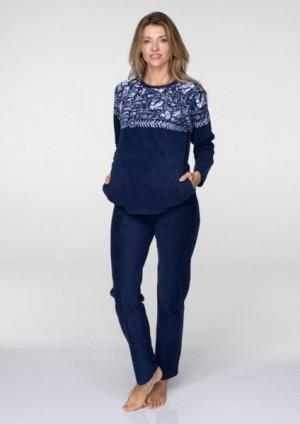 Key LHS 082 B19 dámské pyžamo L tmavě modrá