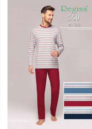 Pánské pyžamo 550 BIG bordó 2XL