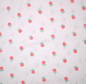Dámské kalhotky s nohavičkami Gucio 0161 M-2XL A'5 bílá-květy L/116