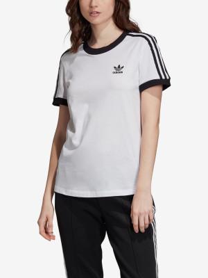 Tričko adidas Originals 3 Str Tee Bílá