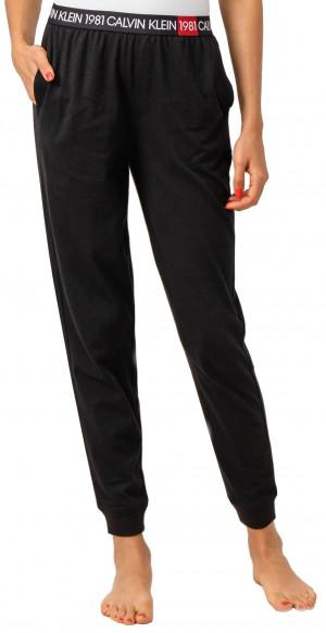 Dámské tepláky QS6311E-001 černá - Calvin Klein černá