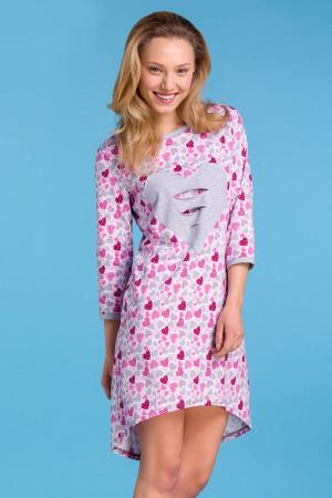 Dámská noční košilka Elba růžová