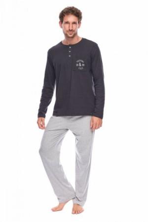 Rossli SAM-PY-156 II Pánské pyžamo XXL  šedá
