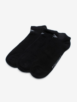 Ponožky Converse Skarpety Men 3-Pack Černá