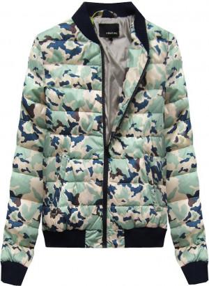 Béžová bunda typu