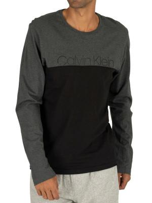 Pánské tričko NM1581E-038 šedá - Calvin Klein šedá