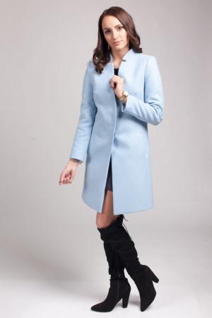 Dámský kabát PLA019 - Mattire  světle modrá