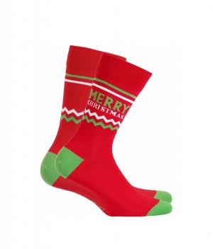 Pánské ponožky Wola W94.155 Sváteční, vánoční ceylan 39-41