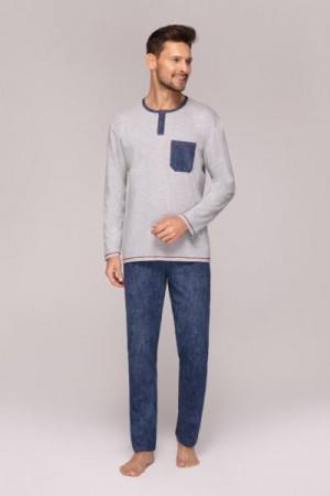 Regina 548 Pánské pyžamo XL tmavě modrá