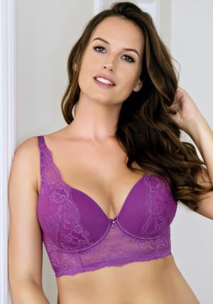 Dámská podprsenka Parfait Sandrine P5351 32 DD Purple