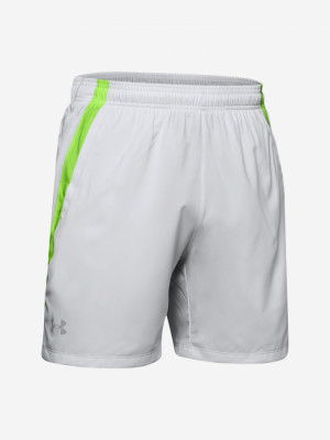 Kraťasy Under Armour Launch Sw 7\'\' Short-Gry Bílá