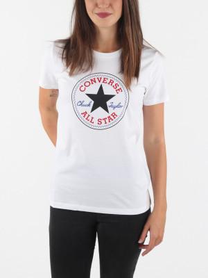 Tričko Converse Chuck Patch Nova Tee Bílá