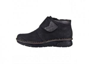 Kotníčková obuv RIEKER 53384-00