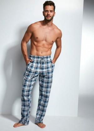 Cornette 691/18 636709 pyžamové kalhoty L tmavě modrá