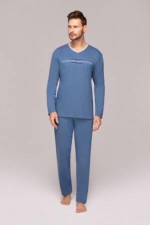 Regina 549 Pánské pyžamo M tmavě modrá