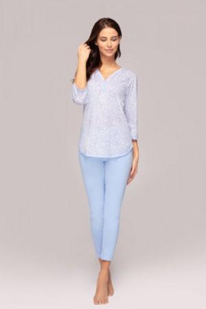 Regina 899 plus Dámské pyžamo XXL modrá