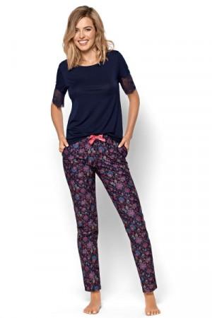 Nipplex Letizia Dámské pyžamo 2XL tmavě modrá