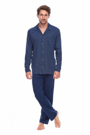 Rossli SAM-PY-159 Pánské pyžamo XXL tmavě modrá