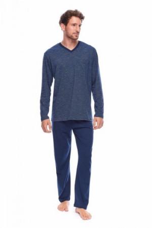Rossli SAM-PY-160 Pánské pyžamo XXL tmavě modrá