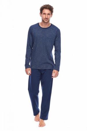 Rossli SAM-PY-161 Pánské pyžamo XXL tmavě modrá