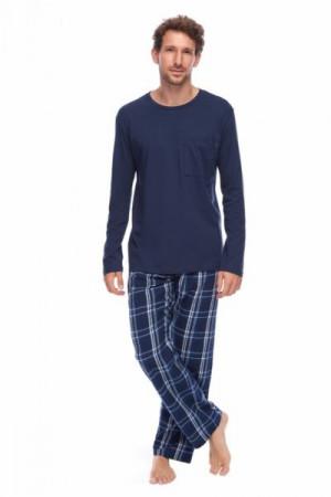 Rossli SAM-PY-162 I Pánské pyžamo XXL tmavě modrá